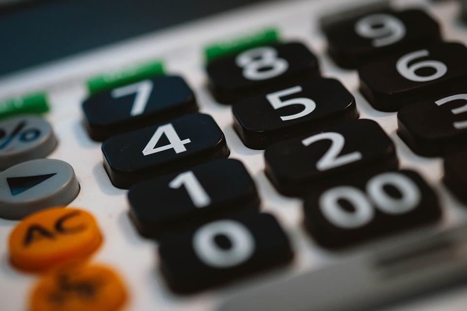 část kalkulačky