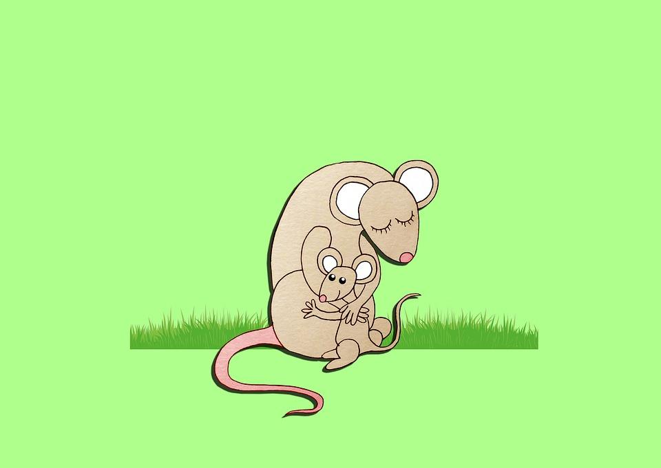 kreslené myši